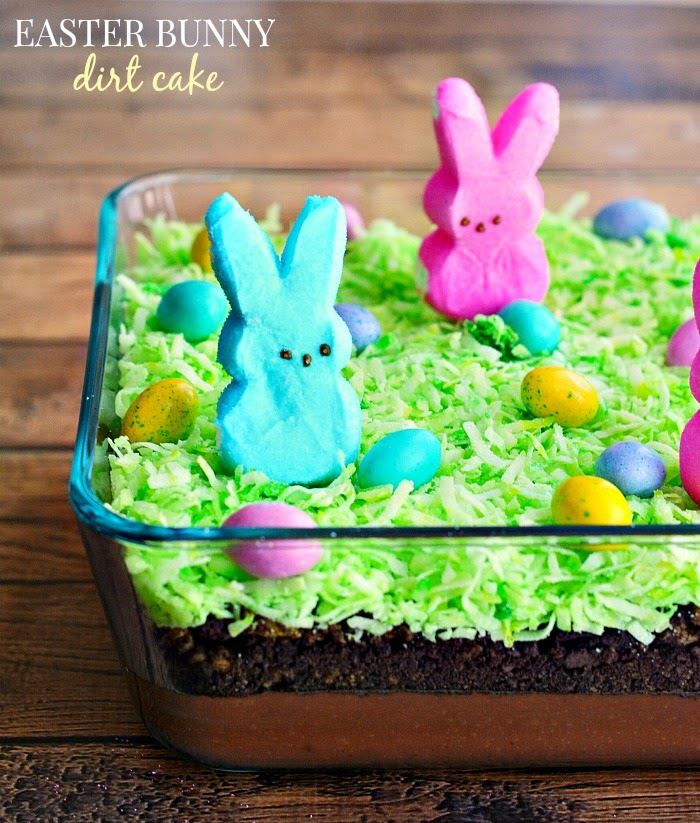 Easter Bunny Dirt Cake | Easter Desserts Recipes to Make this Year